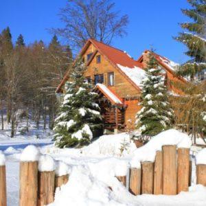 Отдых в Карпатах Зимой 32
