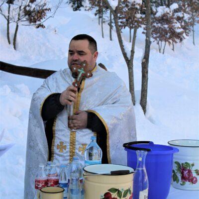 Как на «Озере Vita» Крещение отмечали 4