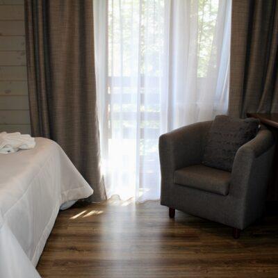 Коттедж «Остров» стандартный 2-местный номер с 1 кроватью 2