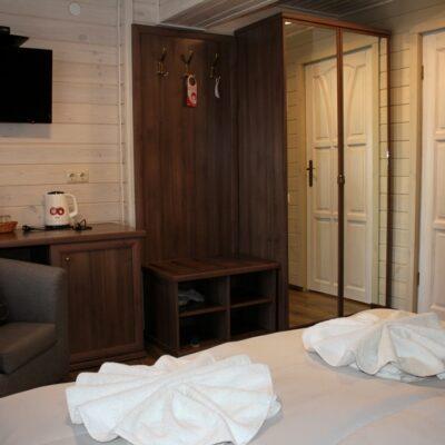 Коттедж «Остров» стандартный 2-местный номер с 1 кроватью 3